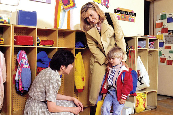 Первое посещение детского сада