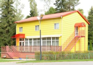 Новое здание детского сада