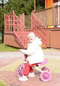 Катаемся на велосипеде
